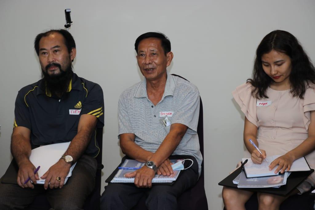 Học viên Nguyễn Văn Thạch (67 tuổi - Bắc Giang), cán bộ quân đội nghỉ hưu