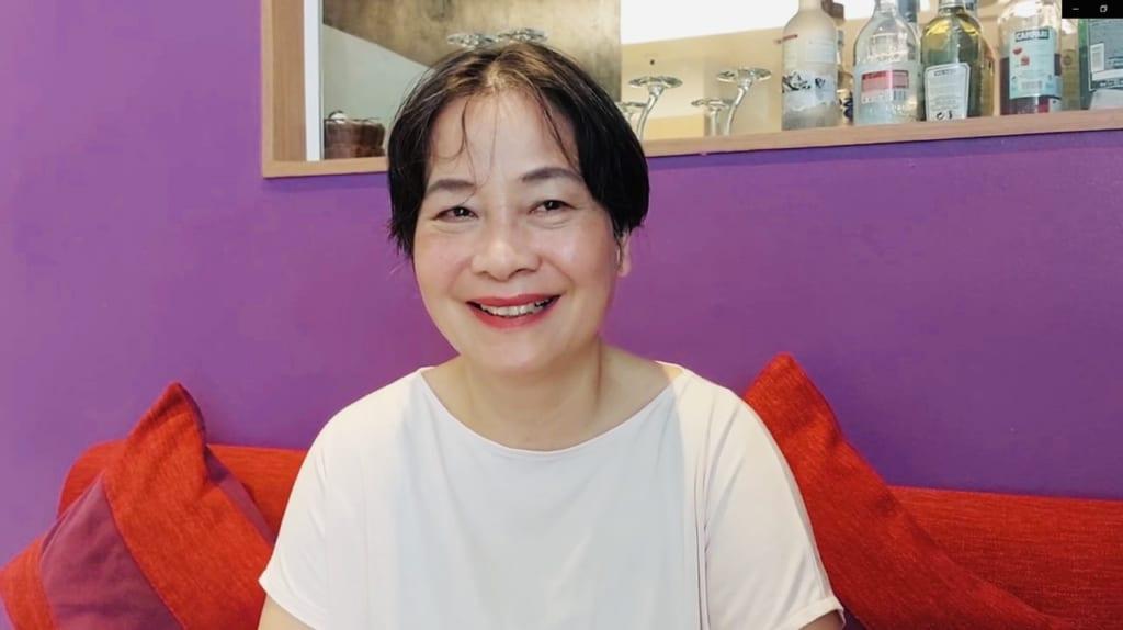 Học viên Mai Thị Tâm (Hà Nội - 72 tuổi chia sẻ)